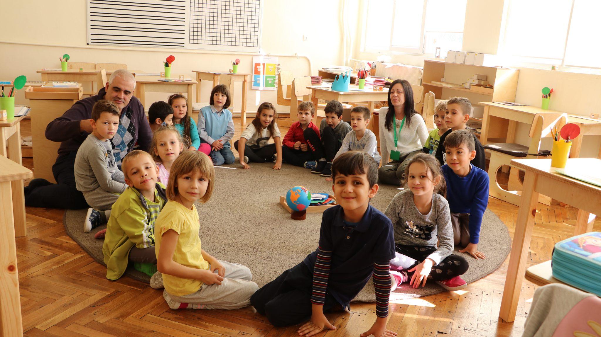 Монтесори класна стая